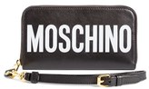 Moschino Women's Logo Wallet - Black