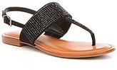 Gianni Bini Brylee Jeweled Flat Sandals
