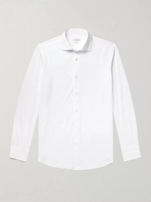 Incotex Slim-Fit Cotton-Pique Shirt