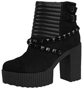 T.U.K. Women's Quilted Harness Yuni Bootie Boot