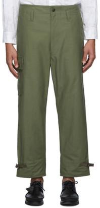 Junya Watanabe Green Military Cargo Pants