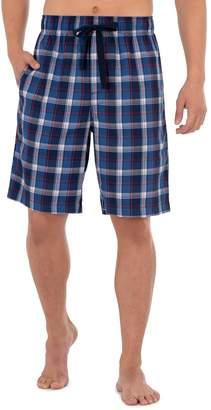 Chaps Men's Woven Twill Pajama Shorts