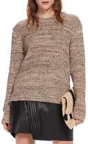 Scotch & Soda Ribbed Lace-Up Side Sweater