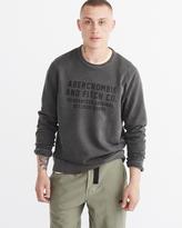 Abercrombie & Fitch Garment Dye Fleece Pullover