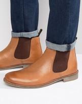 Lambretta Chelsea Boots In Camel