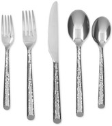 Cambridge Silversmiths Elsa Mirror Hammered 20-Pc. Flatware Set
