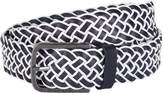 HUGO BOSS Leather Braided Belt