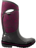 Bogs Women's Plimsoll Quilted Floral Tall Winter Snow Boot