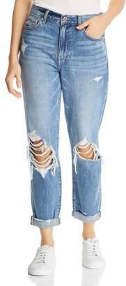 Pistola Denim Presley Vintage Roller High Rise Jeans in Del Mar