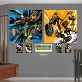 Fathead Teenage Mutant Ninja Turtles Dual Action Mural Wall Decals by