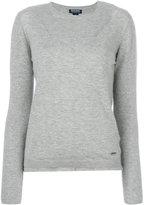 Woolrich crew-neck jumper - women - Silk/Polyamide/Cashmere/Wool - M