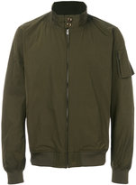Closed high neck bomber jacket - men - Polyester - S