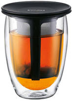Bodum Tea For One Double Wall Glass with Strainer