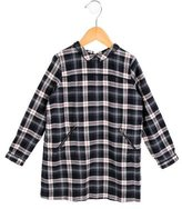 Bonpoint Girls' Plaid Shift Dress