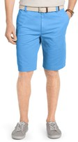 Izod Men's Flat-Front Chino Shorts