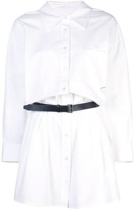 Alexander Wang Belted Shirt Dress