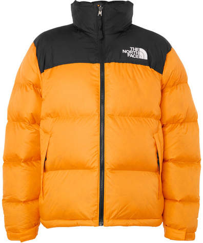 b4ef5e603 1996 Nuptse Quilted Shell Down Jacket - Orange
