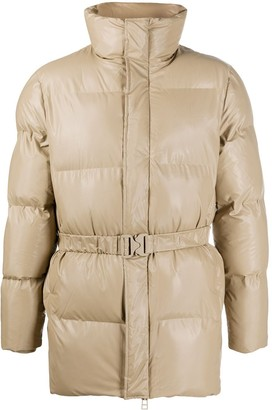 Rains Belted Puffer Jacket