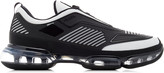 Prada Cloudbust Air Leather, Mesh And Rubber Sneakers