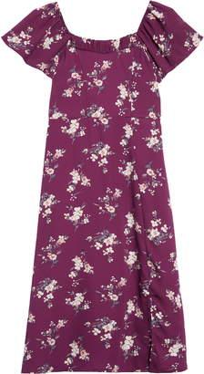 Trixxi Floral Midi Dress