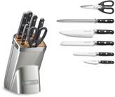 KitchenAid 7-Piece Professional Knife Set, Sugar Pearl Silver
