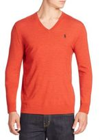 Polo Ralph Lauren Sportsman V-Neck Sweater