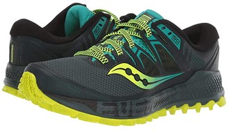 Saucony Peregrine ISO (Green/Teal) Men's Shoes