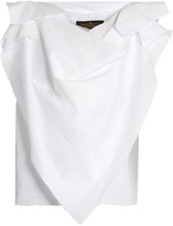 Vivienne Westwood Sueno frayed-edge cotton blouse