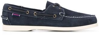 Sebago Docksides suede boat shoes
