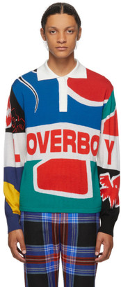 Charles Jeffrey Loverboy Multicolor Flag Rugby Polo