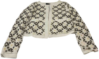 Gestuz White Polyester Jackets