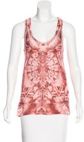 Balmain Sleeveless Printed Top