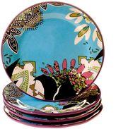 Tracy Porter Rose Boheme 4-pc. Dinner Plate Set