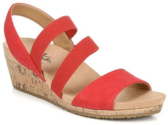 LifeStride Marina Women's Slingback Wedge Sandals