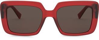 Versace Eyewear VE4384B528073 square-frame sunglasses