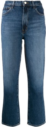 J Brand Jules cropped denim jeans