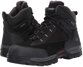 Wolverine Amphibian 6 Amphibian Composite Toe EH WP Boot (Black) Men's Boots