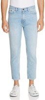 HUGO 332 Cropped Slim Fit Jeans in Light Pastel Blue - 100% Exclusive