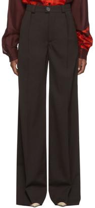 Kwaidan Editions Brown Light Wool Trousers