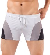 Rocky Sun Mens Breathable Swimsuit Short Trunk Swimming Boxers Size M