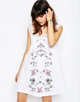 Asos Pretty Embroidery and Lace Sundress