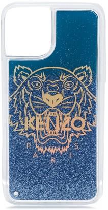 Kenzo logo glitter iPhone 11 pro case