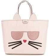 Karl Lagerfeld Women's K/Kocktail Choupette Shopper Bag Sea Shell
