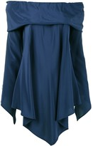 Sies Marjan asymmetric off-shoulder blouse