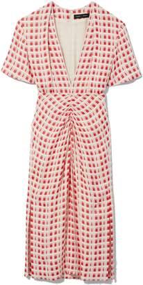 Proenza Schouler Jacquard Plaid Midi Dress