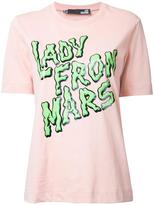 Love Moschino 'lady from mars' T-shirt