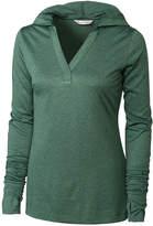 Cutter & Buck Green Chelan Long-Sleeve Hoodie - Plus Too