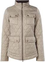Barbour Abbey Quilted Jacket With Liberty Print Lining