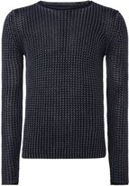 Replay Knit Cotton Jumper
