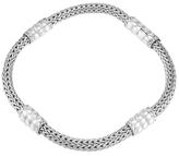 John Hardy Bedeg Silver Extra Small Four-Station Bracelet